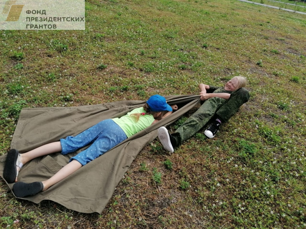 Занятия в пришкольном лагере