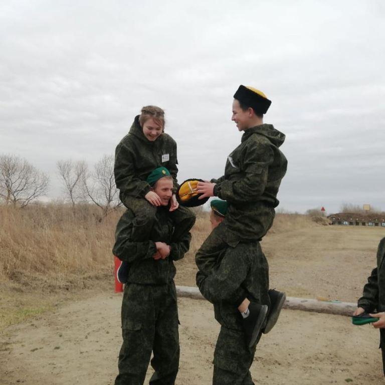 Зарница 2021 в селе Гродеково
