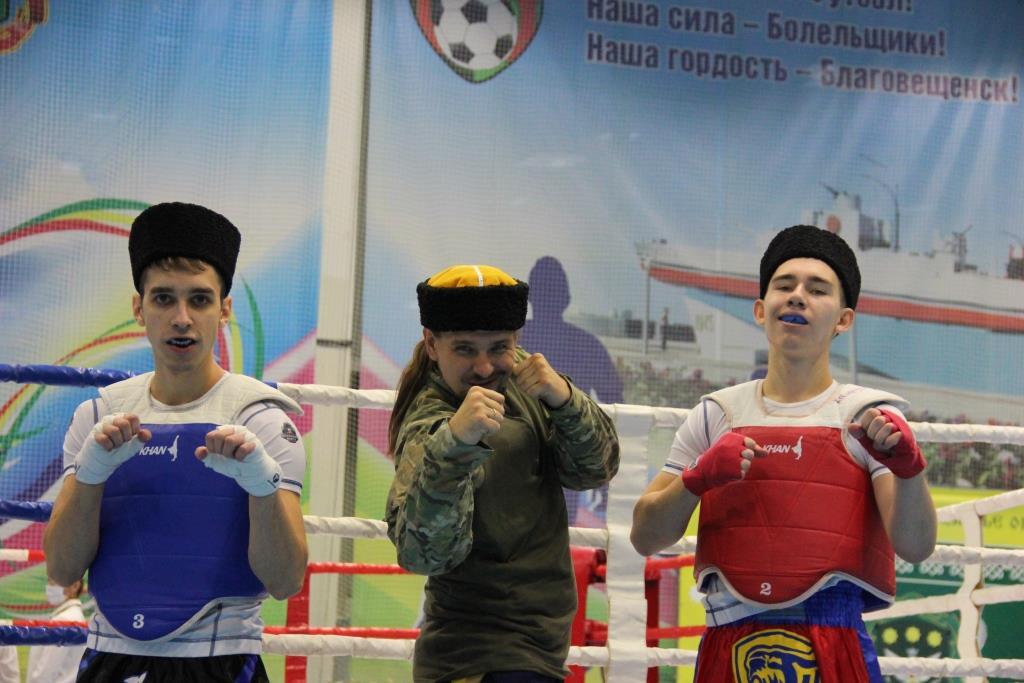В Приамурье развивают казачий бокс
